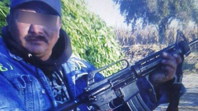 """Una fotografía de Alfredo """"N"""" alias """"El Cuino"""", cuyo asesinato relacionan con el de Jesús """"El Kalimba"""" Martín. (Foto: Fiscalía General del Estado de Puebla) ."""