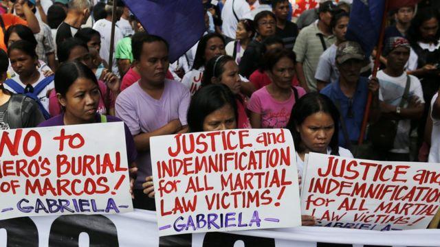 Ferdinand Marcos, Filipia
