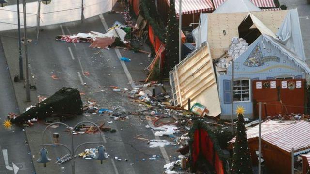การโจมตีที่ตลาดคริสมาสตร์ในเมืองเบอร์ลิน ช่วงเดือนธันวาคม 2016
