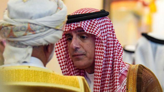 سعودی عرب اور عمان کے وزرائے خارجہ
