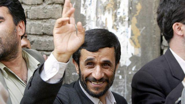 صورة من الأرشيف للرئيس محمود أحمدي نجاد