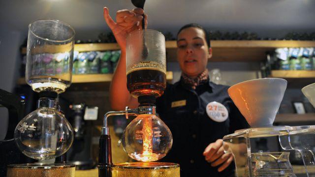 Colombiana produce café especial