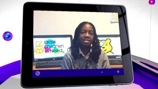 Kids telling Newsround their Children in Need plans