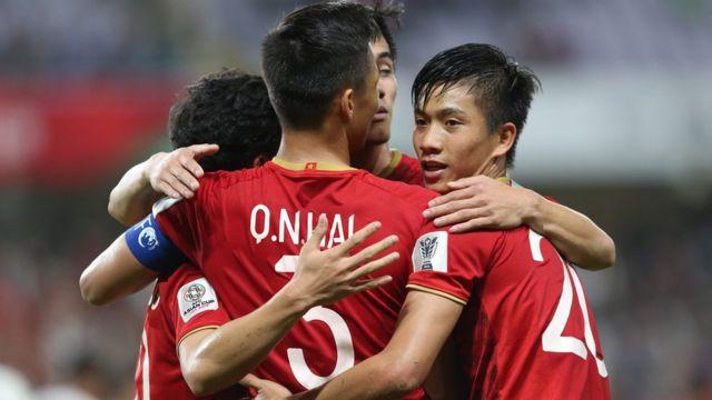 Việt Nam đã lọt vào vòng 16 của AFC Asian Cup
