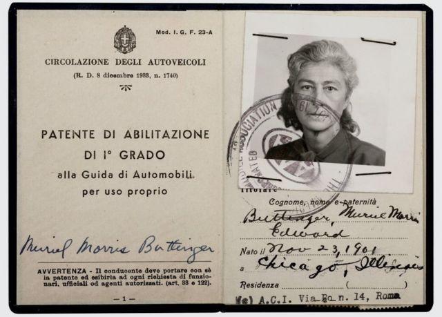 سافرت غاردنر، كثيراً حول أوروبا مستخدمة رخصة قيادتها الإيطالية من عام 1950 .