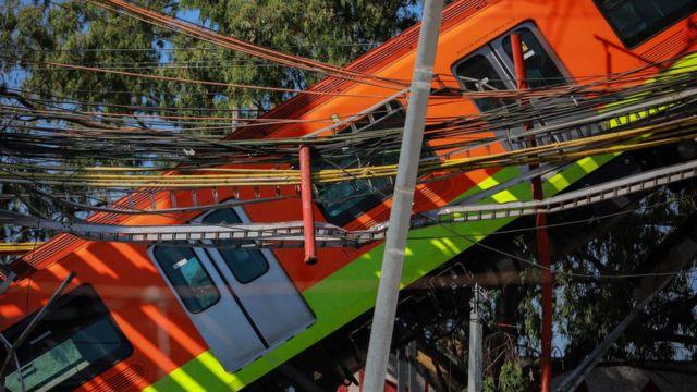 Line 12 CDMX accident