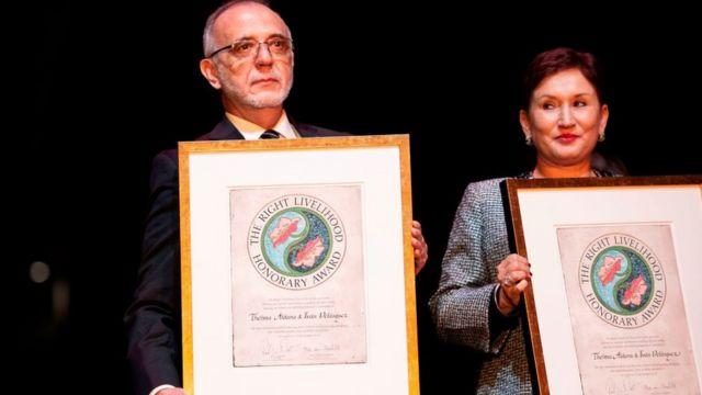 Телма Алдана и Иван Веласкес