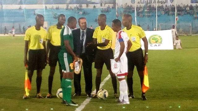 Mu rukino rwa mbere Sudani yari yatsinze 1-0