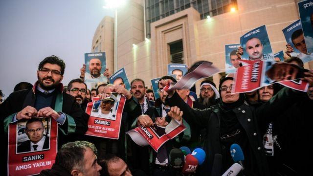 محامو وعوائل ضحايا ماوي مرمرة