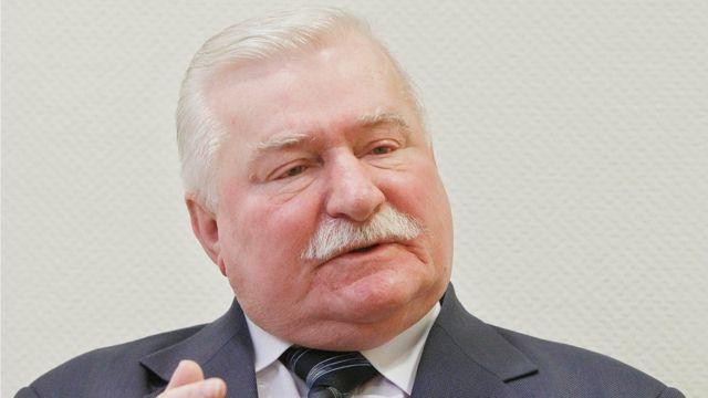 ワレサ氏は1990年から95年までポーランド大統領を務めた(写真は昨年2月撮影)