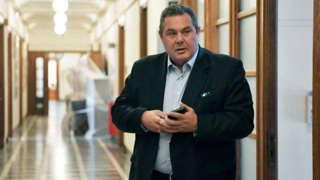 Savunma Bakanı Kammenos