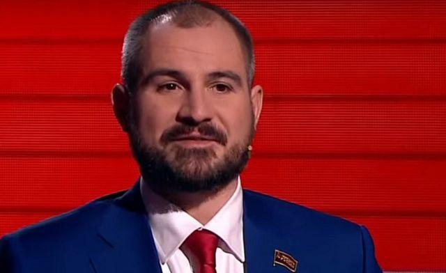 Maxim Suraikin - TV interview on Rossiya 1 channel
