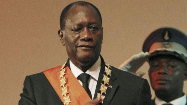 Le président Alassane Ouattara fait fac à plusieurs mouvements de colère
