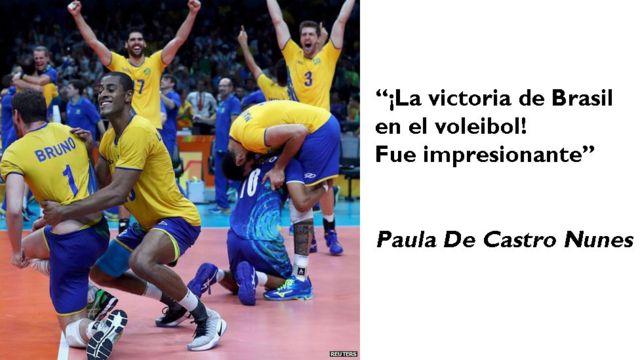 Equipo de voleibol de Brasil