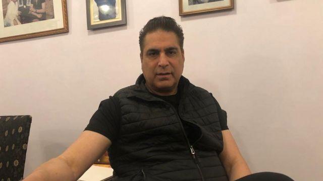 काज़िम अली खां 'नवेद मियां'