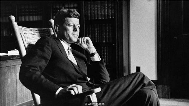 贾奇说这是政治领导人的共同特点,包括美国总统肯尼迪。