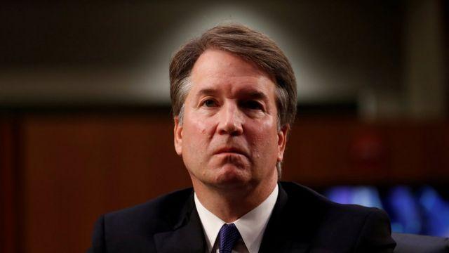 US Supreme Court nominee Judge Brett Kavanaugh