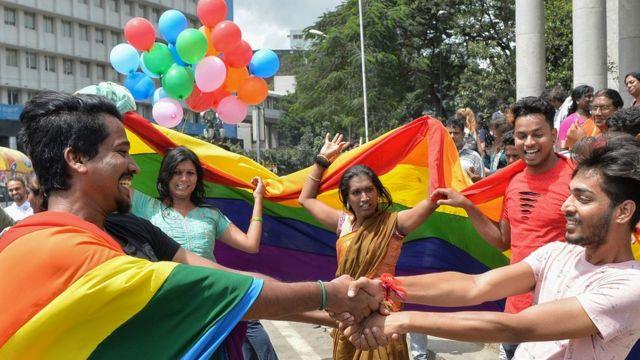 Celebración en Bangalore, India