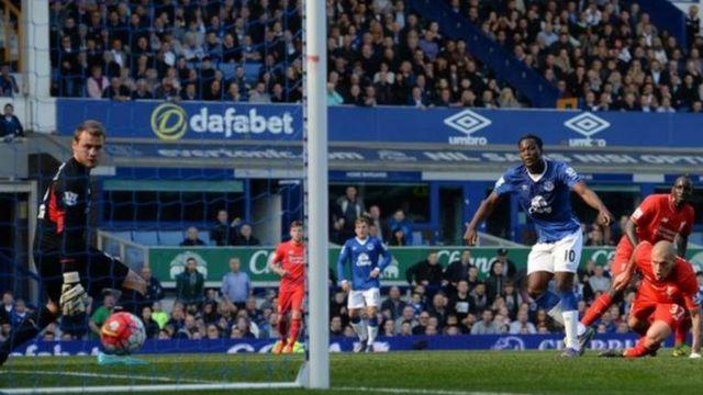 Romelu Lukaku has scored five goals in his past eight Premier League appearances against Liverpool