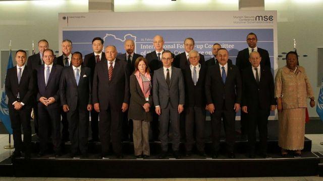Münih Güvenlik Konferansı'nda Libya konulu özel bir toplantı da yapıldı. Toplantıda Türkiye'yi Dışişleri Bakanı Çavuşoğlu temsil etti