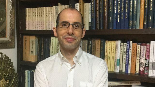 Professor Lúcio de Sousa, da Universidade de Estudos Estrangeiros de Tóquio