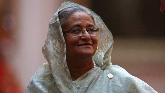 Primera ministra de Bangladesh, Sheikh Hasina