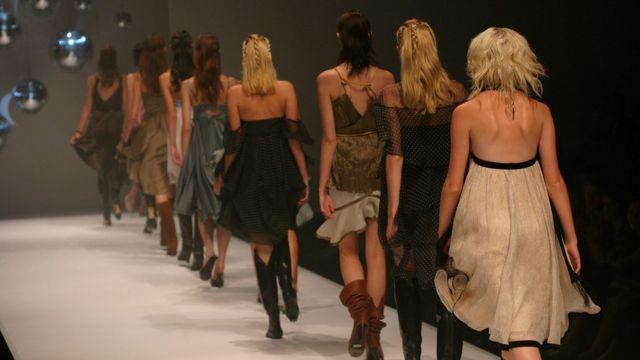 澳大利亚时装周的模特