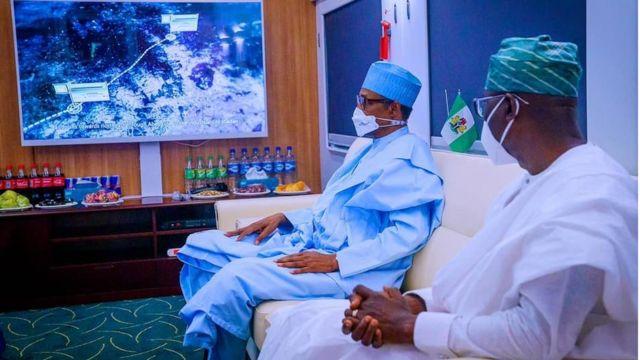 """Buhari in Lagos"": [Muhammadu Buhari] 'June 10 Ebute Metta train project commissioning'"