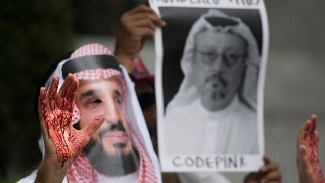 وقفة للمطالبة بالكشف عن قتلة خاشقجي