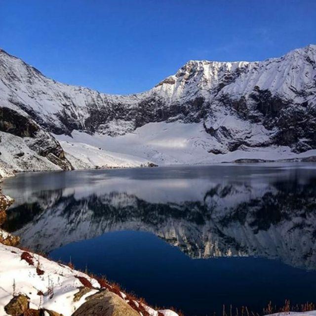 رتی گلی جھیل، وادی نیلم، پاکستان کے زیرِ انتظام کشمیر، برفباری