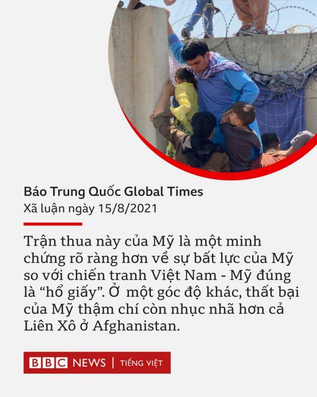Xã luận của báo Global Times