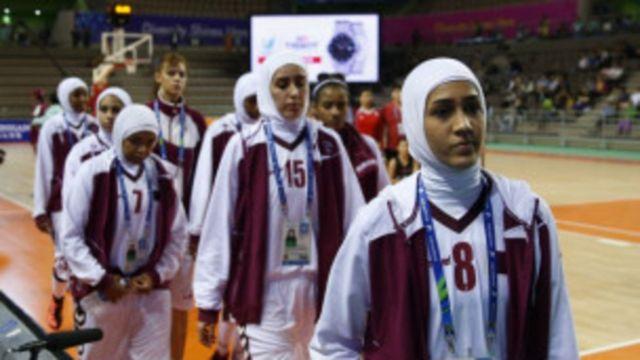 Qatar olymipique femme athlètes