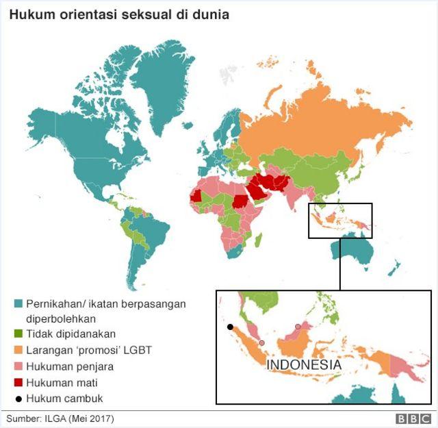 Peta hukum LGBT