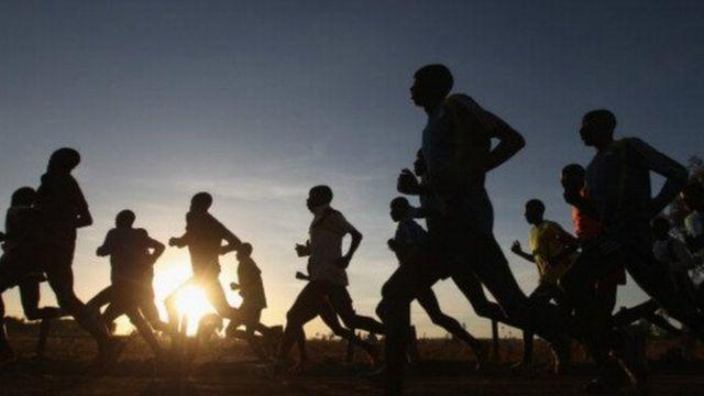 Kenya athletes