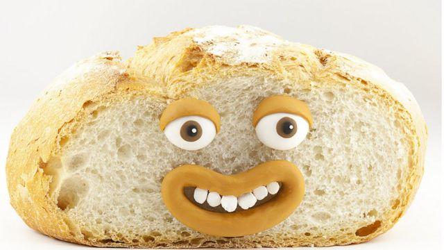 Pan con cara
