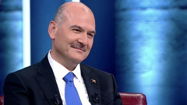 İçişleri Bakanı Süleymanj Soylu