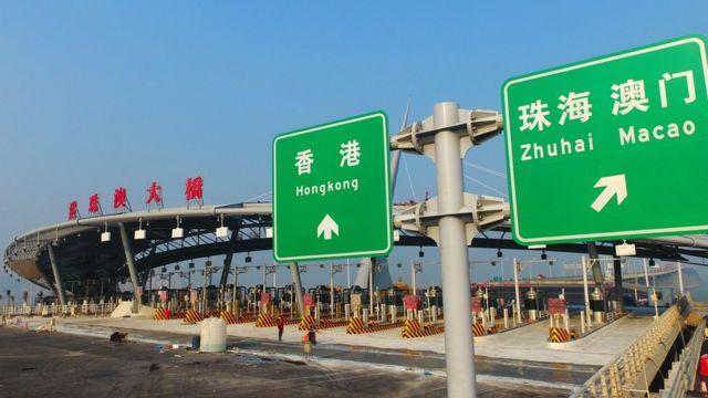 去年通車的港珠澳大橋令香港來往珠江西岸的車程大幅減少,但車流量卻遠低於最初的估算。