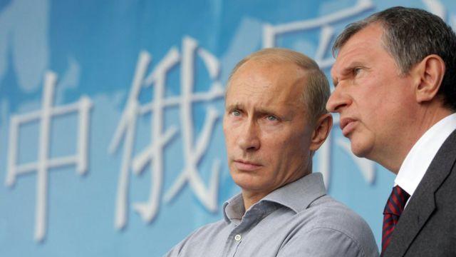 Владимир Путин, Игорь Сечин