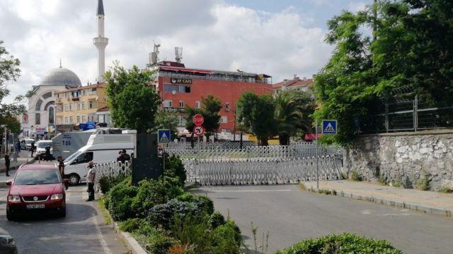 Boğaziçi Üniversitesi Güney Kampüs önüne polis barikatı kuruldu