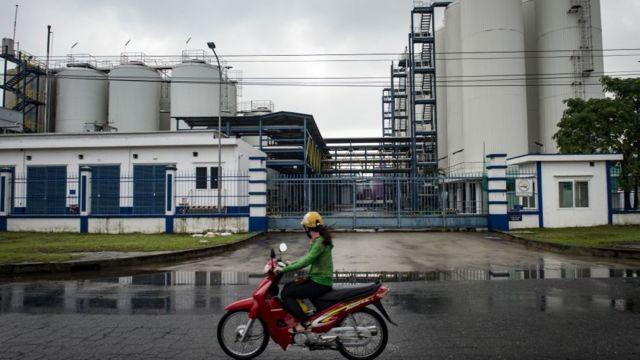 Một nhà máy ở khu công nghiệp tại Đà Nẵng