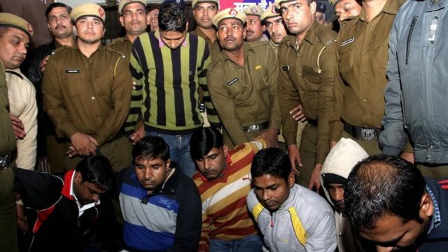 Seven sentenced to death for brutal rape-murder in India