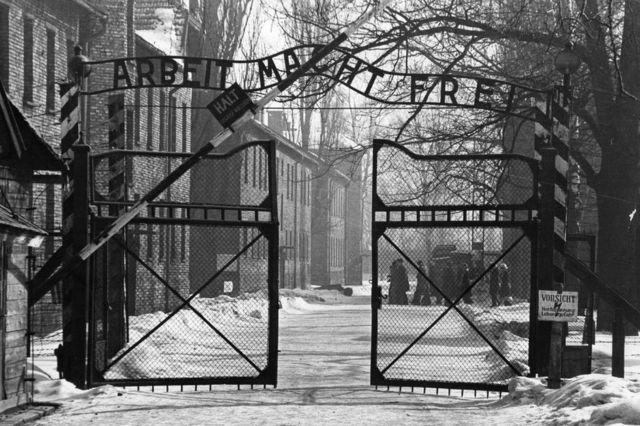 Saul Oren'in kurtulmayı başardığı Auschwitz toplama kampı