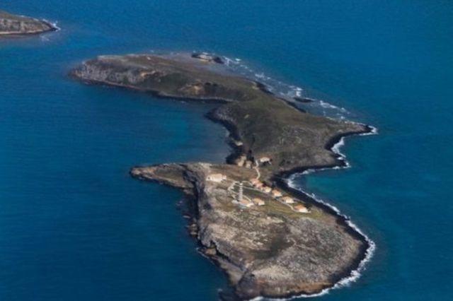 Região de Abrolhos vista do alto