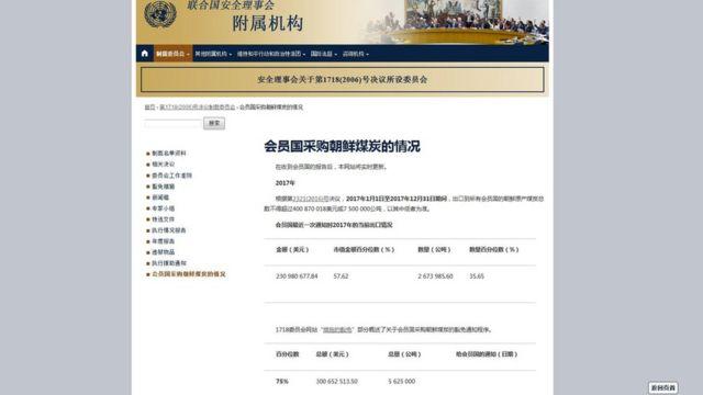 联合国网站信息