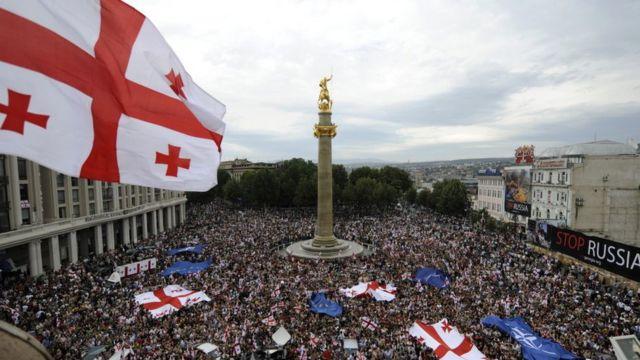 Tbilisdə etiraz aksiyası