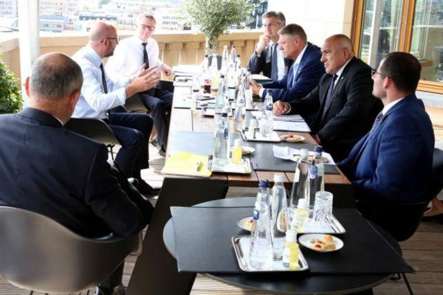 переговоры в ЕС