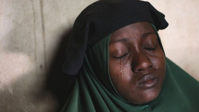 Humaira Mustapha mourns the kidnapping of her daughters