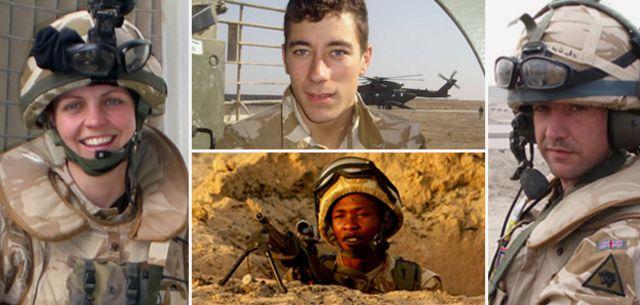 Soldiers killed in Iraq