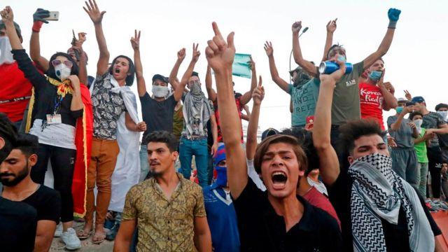 المحتجون واجهتهم قوات الأمن بالذخيرة الحية وقنابل الغاز