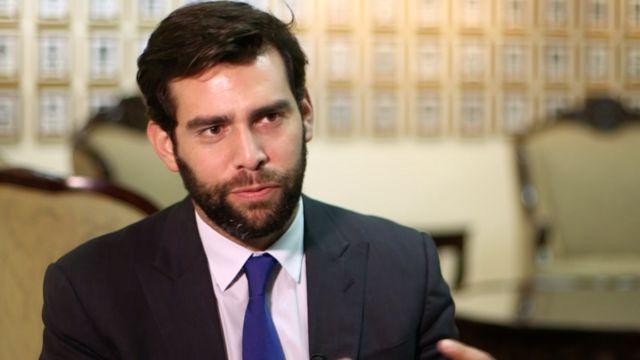 Johnny Wright, diputado por el partido conservador ARENA.